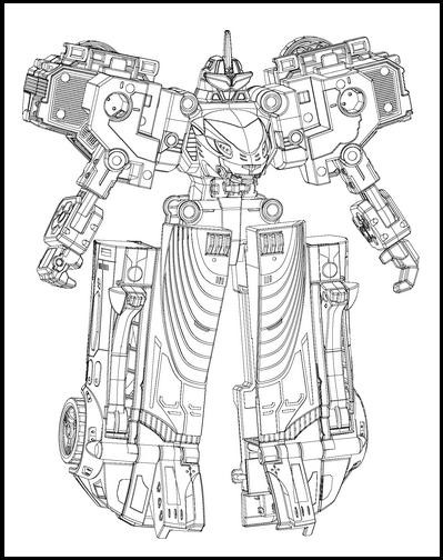 変形ロボットの意匠